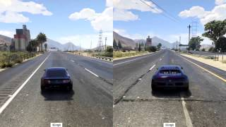 GTA 5 - Slammed Rapid GT vs Adder Top Speed Difference