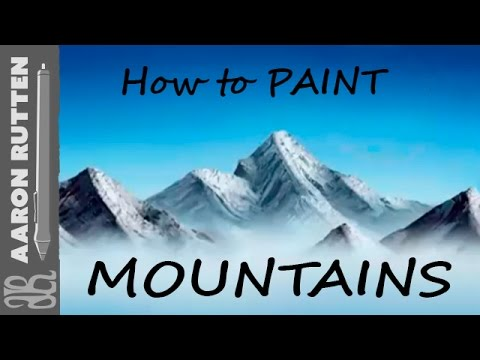 How To Paint Mountains With Corel Painter