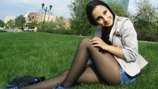 Cute Serbian Women   Girls in Pantyhose, Nylons & Tights #1