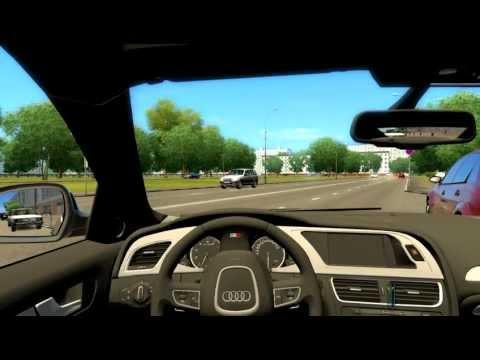 Simulare parcarea laterala cu spatele