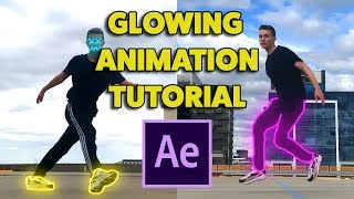 How To Make AMAZING GLOWING ANIMATIONS (After Effects Tutorial)