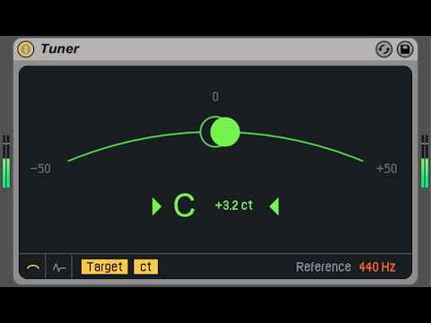 Tuning Kick Drums made easy with Ableton Live 9.2's Tuner device