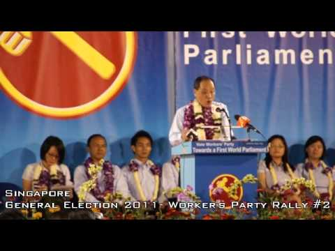 Singapore 2011 General Election - Workers Party - Low Thia Khiang