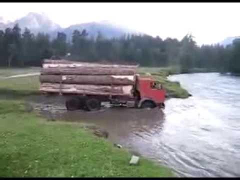Камаз ворует древесину, ПРИколы по русски ЖЕСТЬ, ЭТО надо видеть!