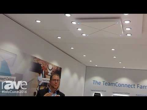 InfoComm 2016: Sennheiser Exhibits TeamConnect Ceiling