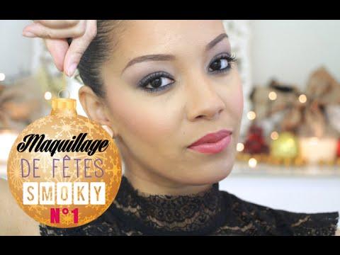 Réaliser un Smoky Eye de fêtes avec Amivi Makeup