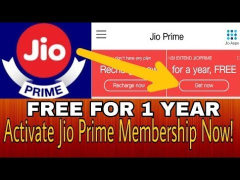 How To Activate Jio Prime Membership FREE Step By Step   FREE TILL MARCH 2019   ACTIVATE NOW