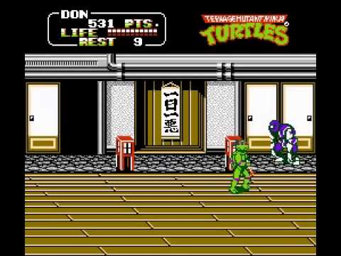 Teenage Mutant Ninja Turtles II - The Arcade Game - Teenage Mutant Ninja Turtles II (NES) - User video