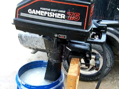84 Sears Gamefisher 7.5 outboard
