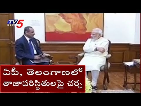 Governor Narasimhan Meets PM Modi On AP Politics | TV5 News