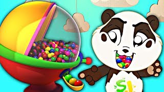 Gumball Machine Song | Panda Bo Nursery Rhymes & Kids Songs