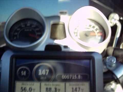 Honda CBX250 Twister velocidad maxima 165kmh