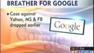 Objectionable content - Case against Google India dropped