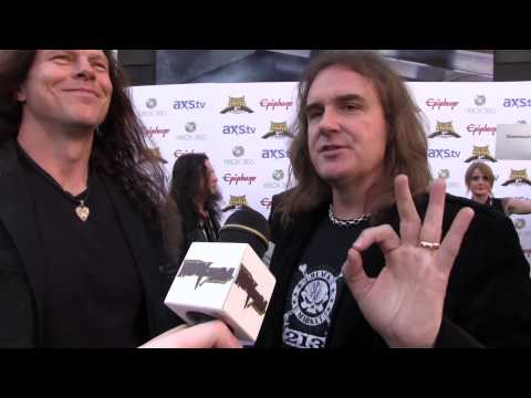Megadeth - 2013 Revolver Golden Gods Interview