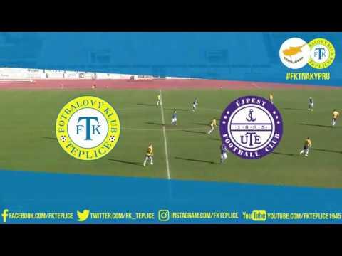 Soustředění na Kypru obrazem - utkání Teplice - Újpest