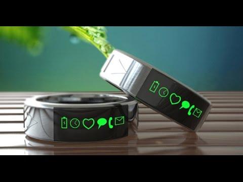 Необычные кольца на руку. Гаджеты, устройства и новые технологии.