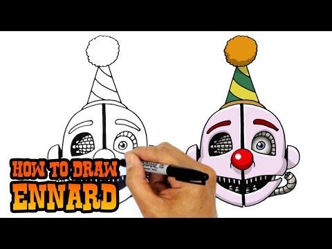 How to Draw Ennard | FNAF Sister Location