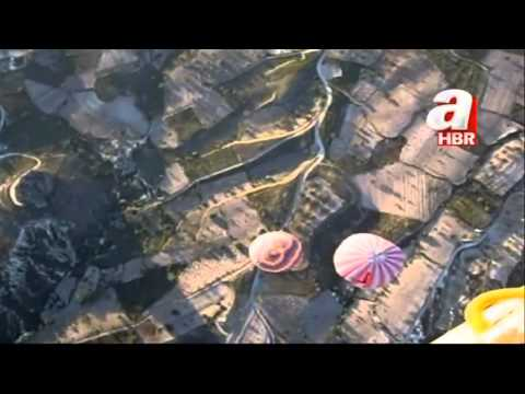 Turkey hot air balloon crash filmed from above -- video