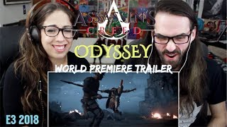 ASSASSIN'S CREED ODYSSEY E3 2018 Official World Premiere Trailer REACTION!!!