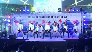 160910 [Wide] Copy Paste cover TWICE - A.D.T.O.Y. + CHEER UP + Like OOH-AHH @ Esplanade#3 (Semi)