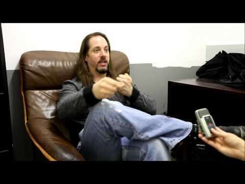 Dream Theater's John Petrucci Interview at Gasometer,Vienna