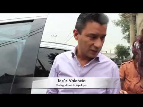 Delegado Iztapalapa. La otra camioneta que maneja