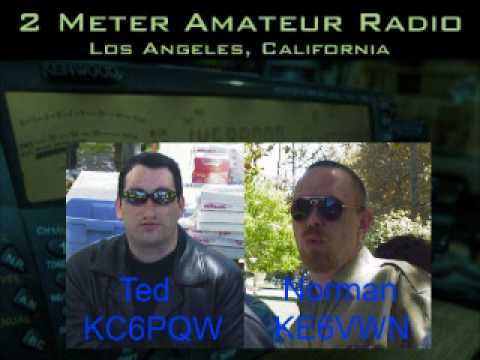 Norman KE6VWN fights with Ted KC6PQW - 147.435 repeater ham radio