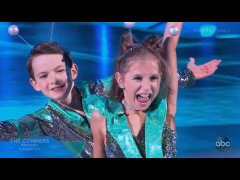 Jason Maybaum & Elliana Walmsley - Dancing With The Stars Juniors (DWTS Juniors) Episode 2