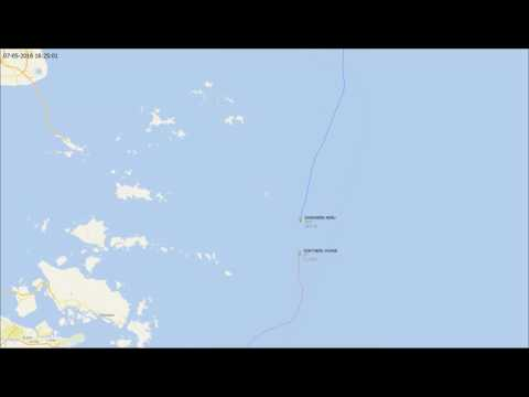 Safmarine Meru collision with Northern Jasper in East China Sea