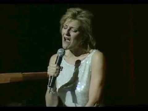 Karen Mason performing We Never Ran Out Of Love