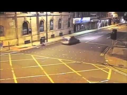 CCTV: Motorist Hits Men In 'Revenge Attack'