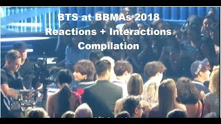 BTS at BBMAs Reactions and Interaction Compilation