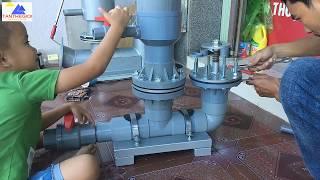 How to pump hydraulic