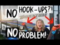 RV LIVING FULL TIME - DUMP RV GREY & BLACK TANKS WITHOUT SEWER HOOKUP