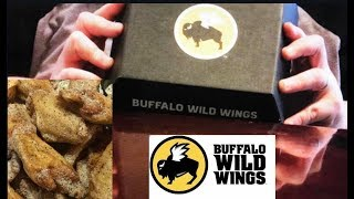 ASMR Lowcarb/Keto Mukbang Salt N Vinegar Buffalo Wild Wings