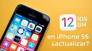iOS 12 OFICIAL GM en iPhone 5S, lo que debes saber ¿actualizar? REVIEW DEFINITIVA
