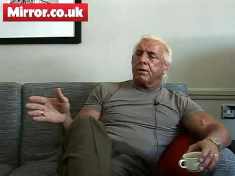 0 TNA Wrestler Ric Flair chats to Mirror.co.uk   Part One