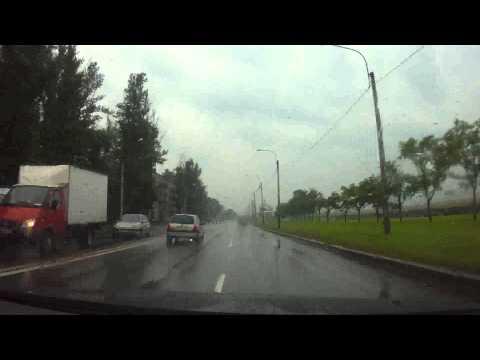 ДТП на Краснопутиловской 30.06.2014