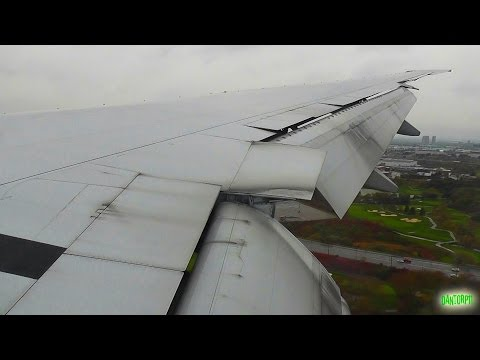 Air Canada 777-300ER Bad Weather Landing at Toronto Pearson!