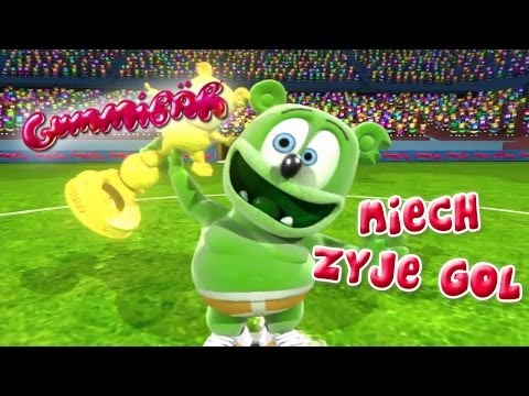 Gummibär - Niech Zyje Gol - Polish Version - Go For The Goal video