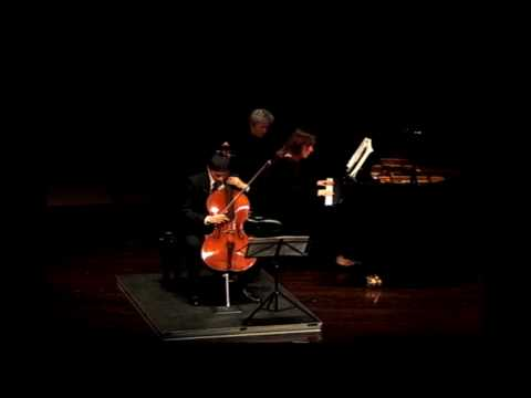 Brahms: Sonata in F Major for Cello and Piano, Op. 99, Mvt. II