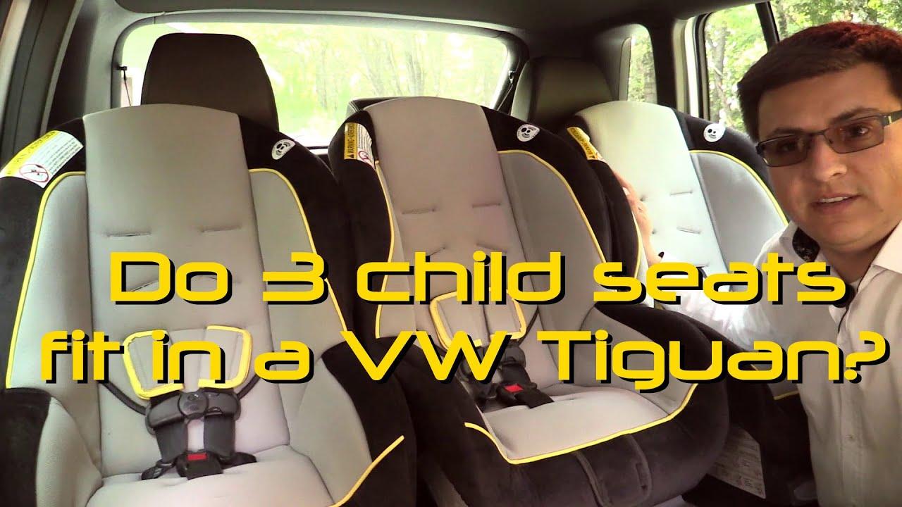 2014 2015 Volkswagen Tiguan Child Seat Review Youtube