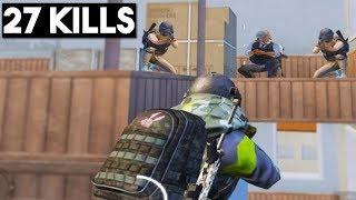 FULL SQUAD WAITED FOR ME! | 27 KILLS SOLO vs Squad | PUBG Mobile