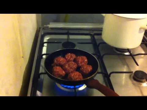 Как готовить фарш - видео