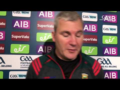 James Horan, reacts to Mayo's All-Ireland semi-final defeat to Dublin.