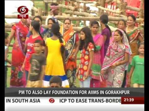 Prime Minister Narendra Modi is to visit Gorakhpur tomorrow