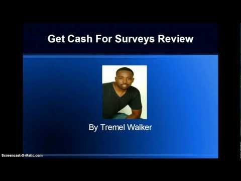 Get Cash For Surveys Scam Review