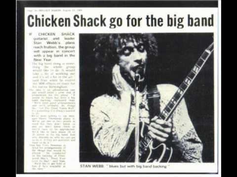 CHICKEN SHACK - The Thrill is gone