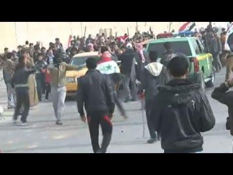 Iraq army kills seven protesters in Fallujah Friday