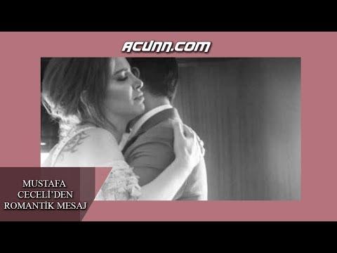 Mustafa Ceceli'den eşi Selin İmer'e romantik mesaj!